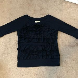 Hollister lace middle sleeve